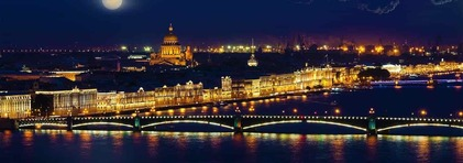 Saint Petersburg By Night