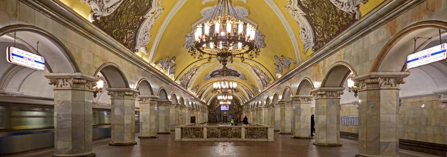 Moscow Underground Free Walking Tour