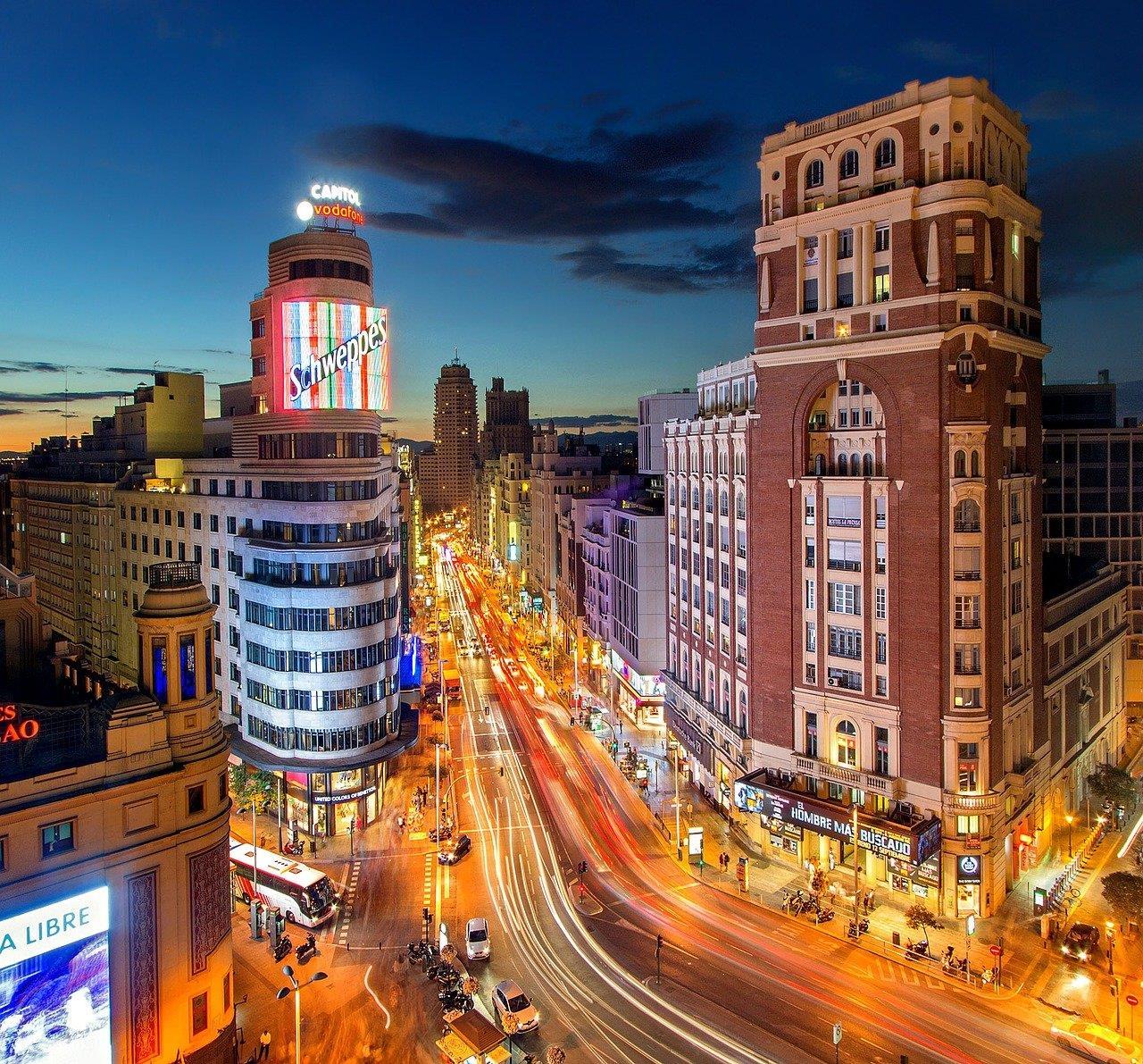 Madrid Lights Free Walking Tour
