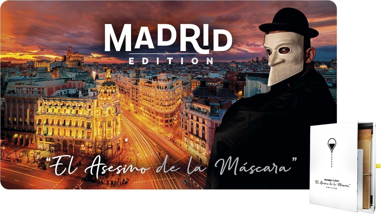 Escape Madrid: El asesino de la Máscara
