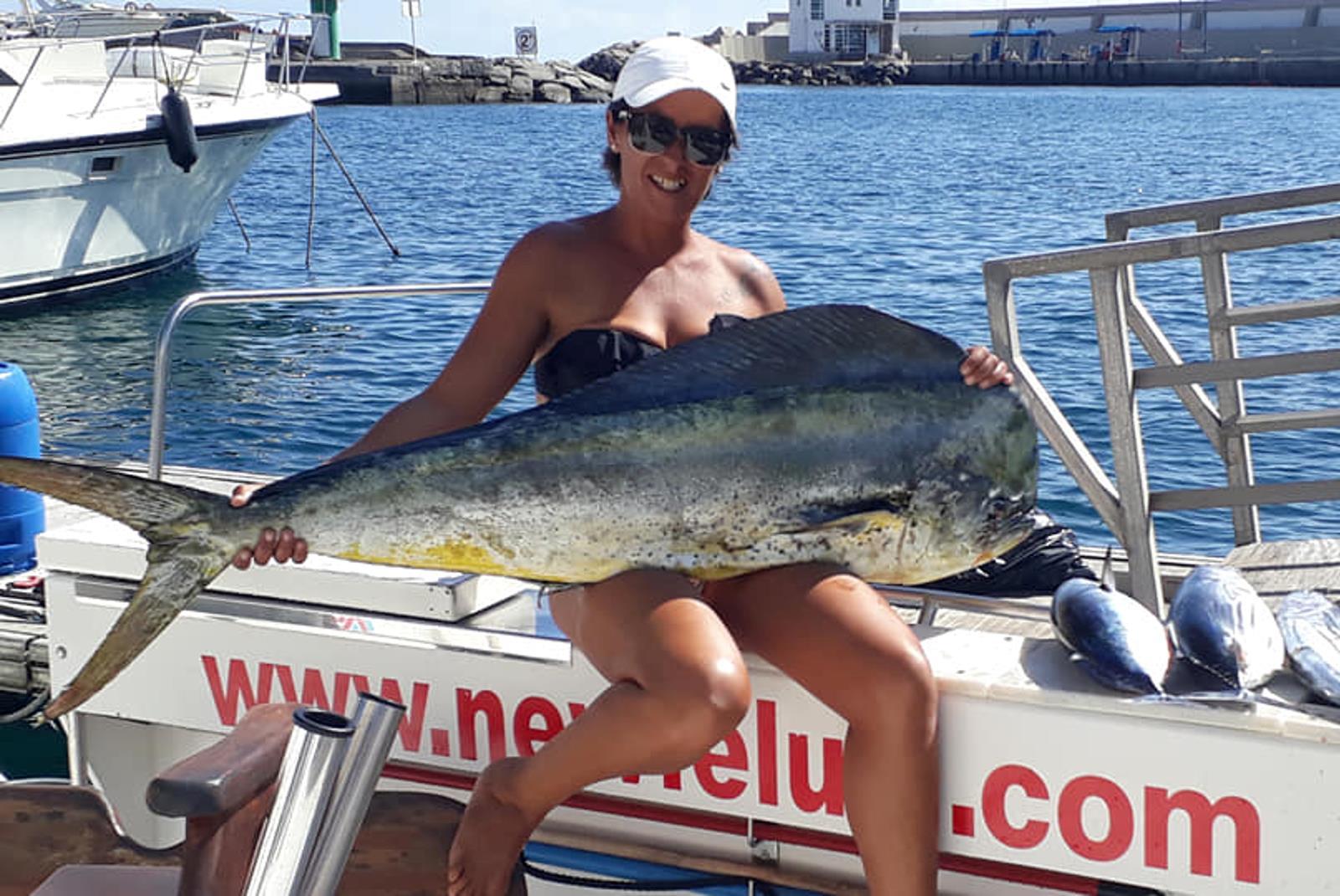 Pesca deportiva en el sur de Gran Canaria