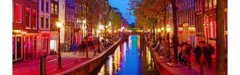 Red Light District Guided Visit
