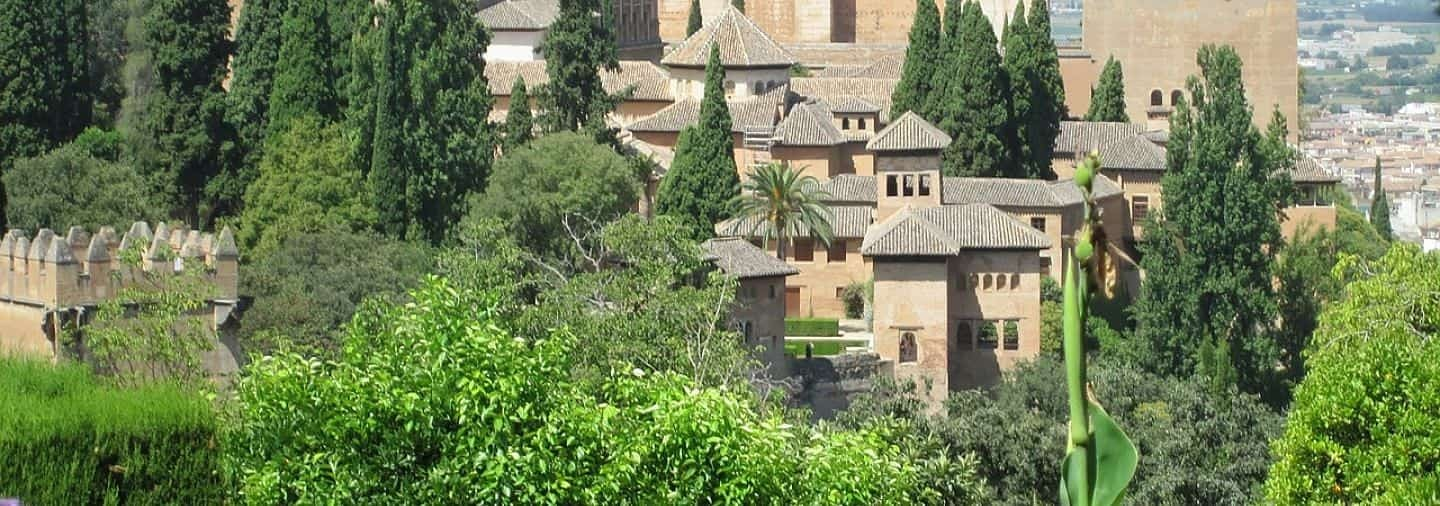 Surroundings of the Alhambra tour