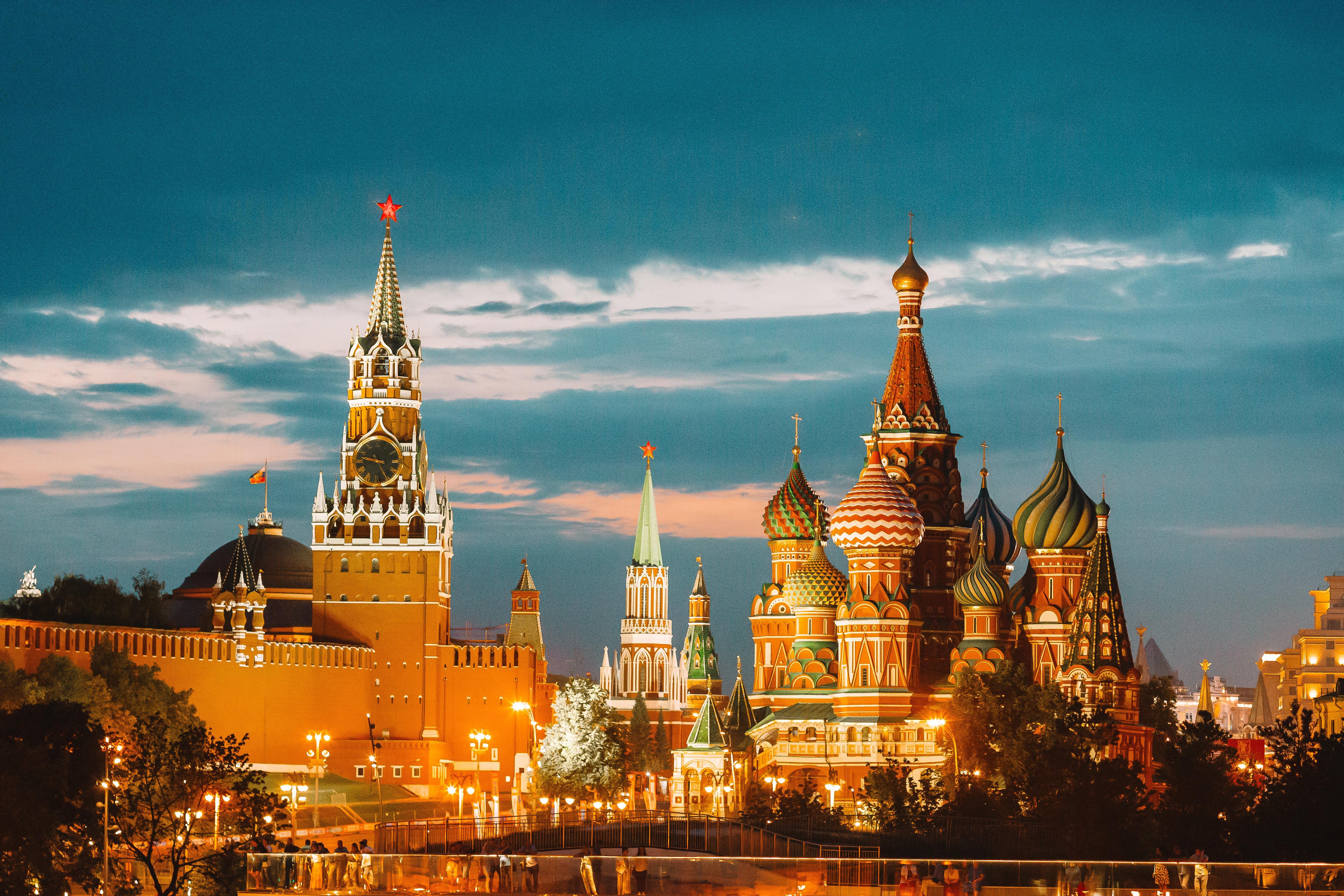 Visita guiada por el Moscú iluminado