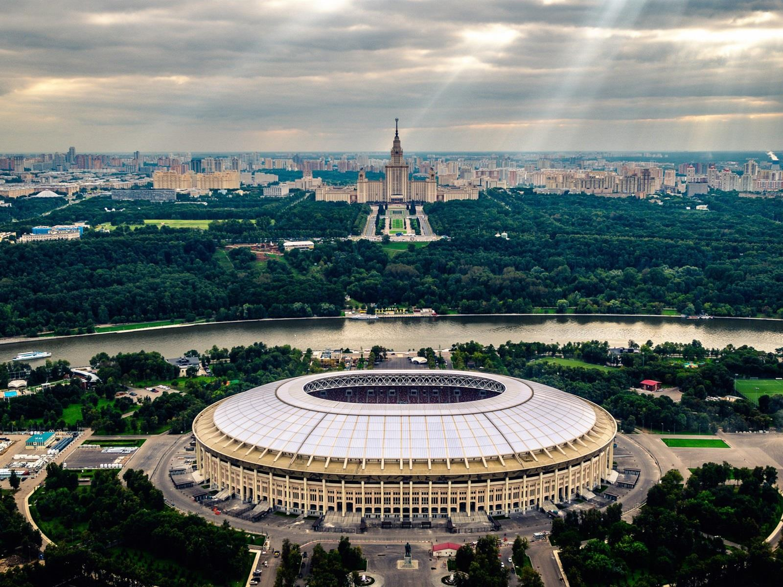 Luzhnikí Olympic Stadium Tour with Panoramic View