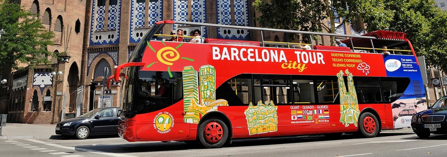 Barcelona City Tour Hop On Hop Off