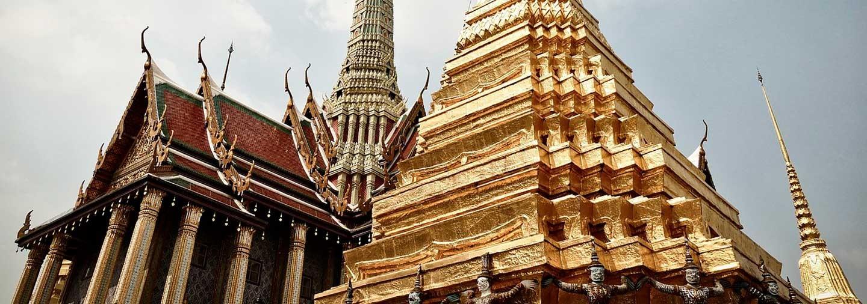 Excursión al Gran Palacio y a los Templos de Bangkok