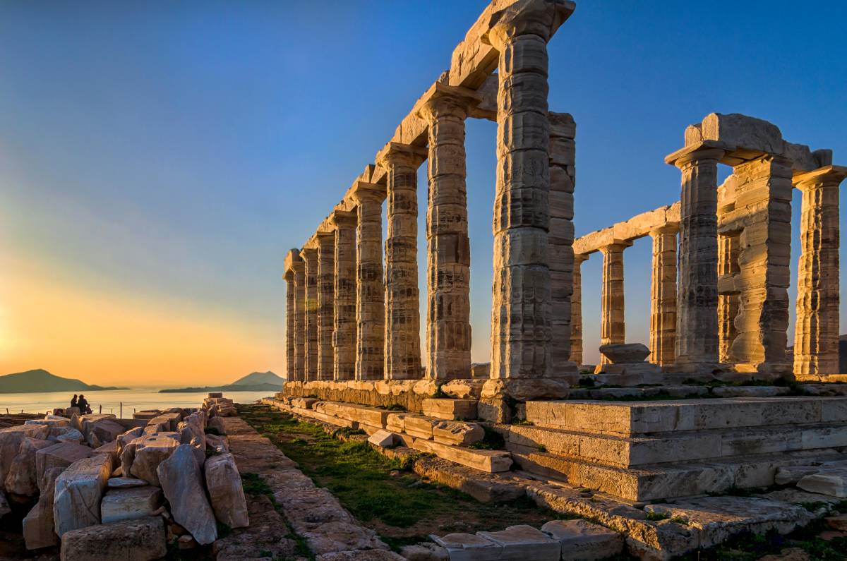 Cape Sounion and Temple of Poseidon