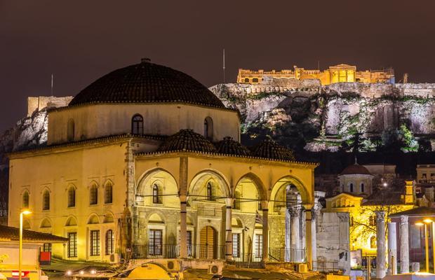 Tour Atenas Iluminada