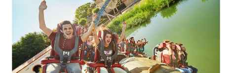 PortAventura tickets with transport from Barcelona