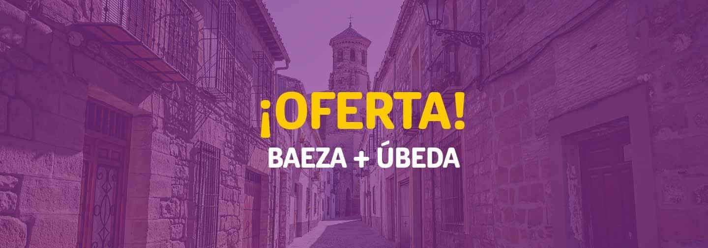 Special offer: Best of Baeza and Ubeda for 22€