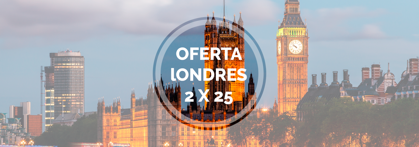 Special London Offer: 2 tours for € 25
