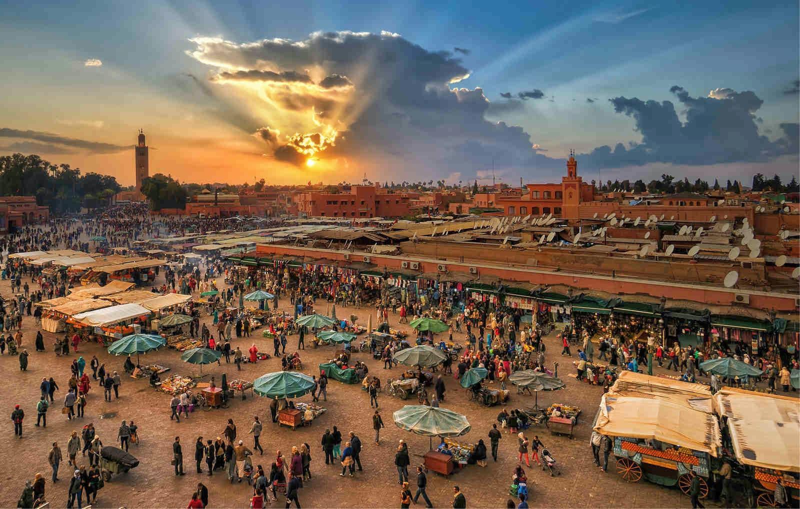 Marrakech Medina Private Half-day Tour
