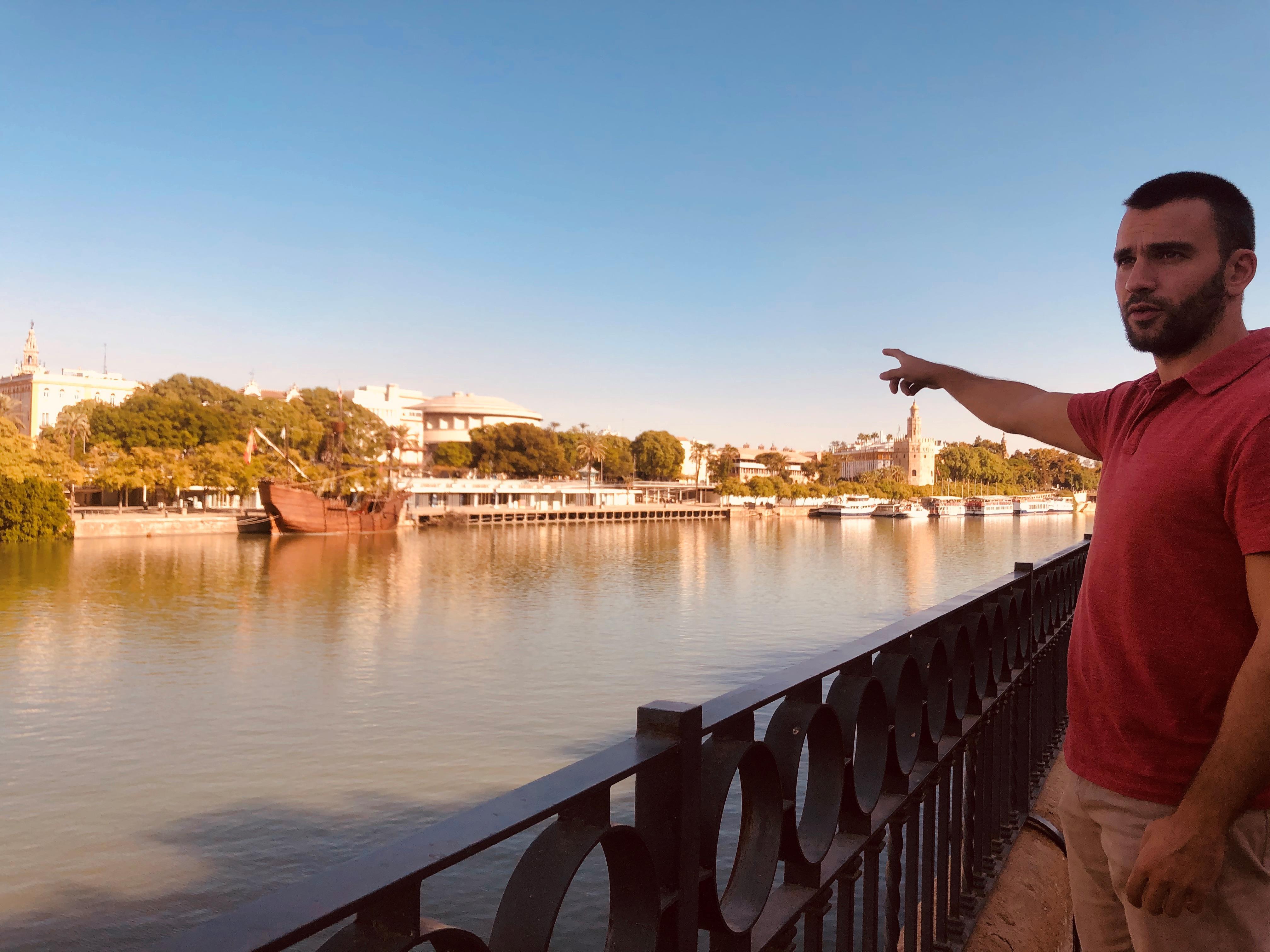 Tour esencial de Sevilla en bicicleta & segway