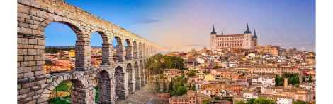 Segovia and Toledo Day Trip from Madrid with Tickets