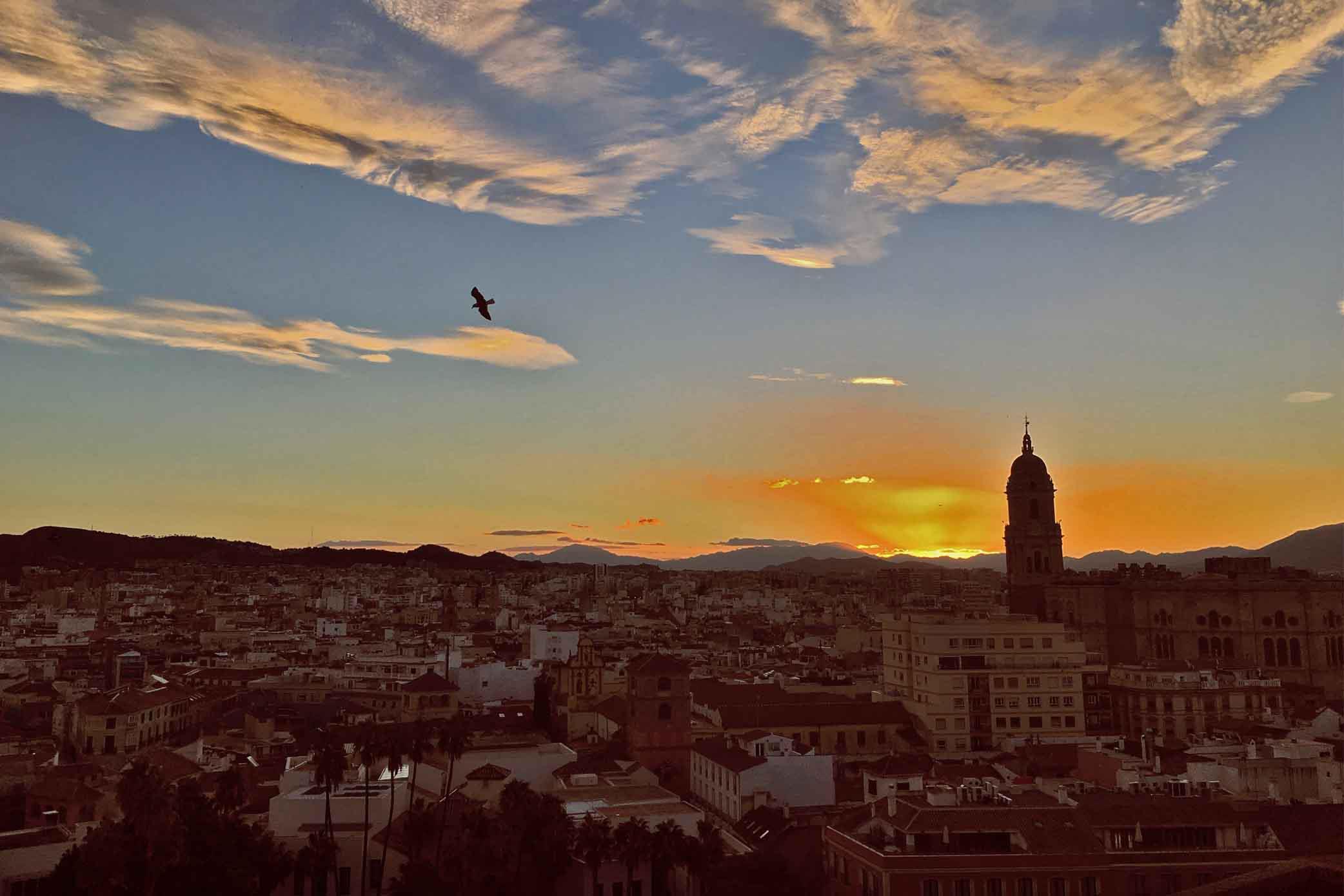 Tour Málaga al atardecer