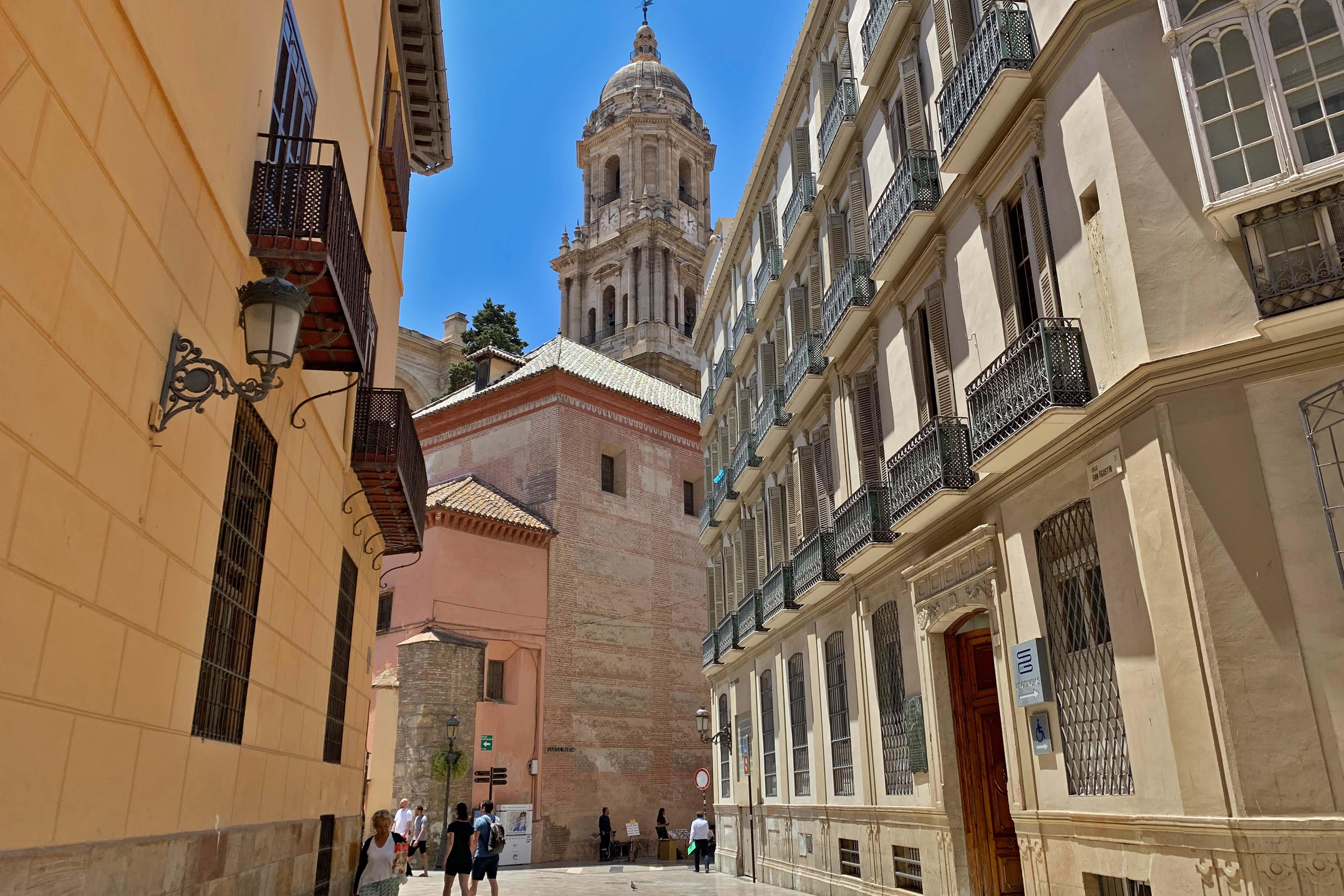Tour Catedral de Málaga y centro histórico.