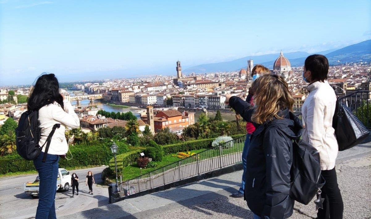 Florencia Sunrise free tour