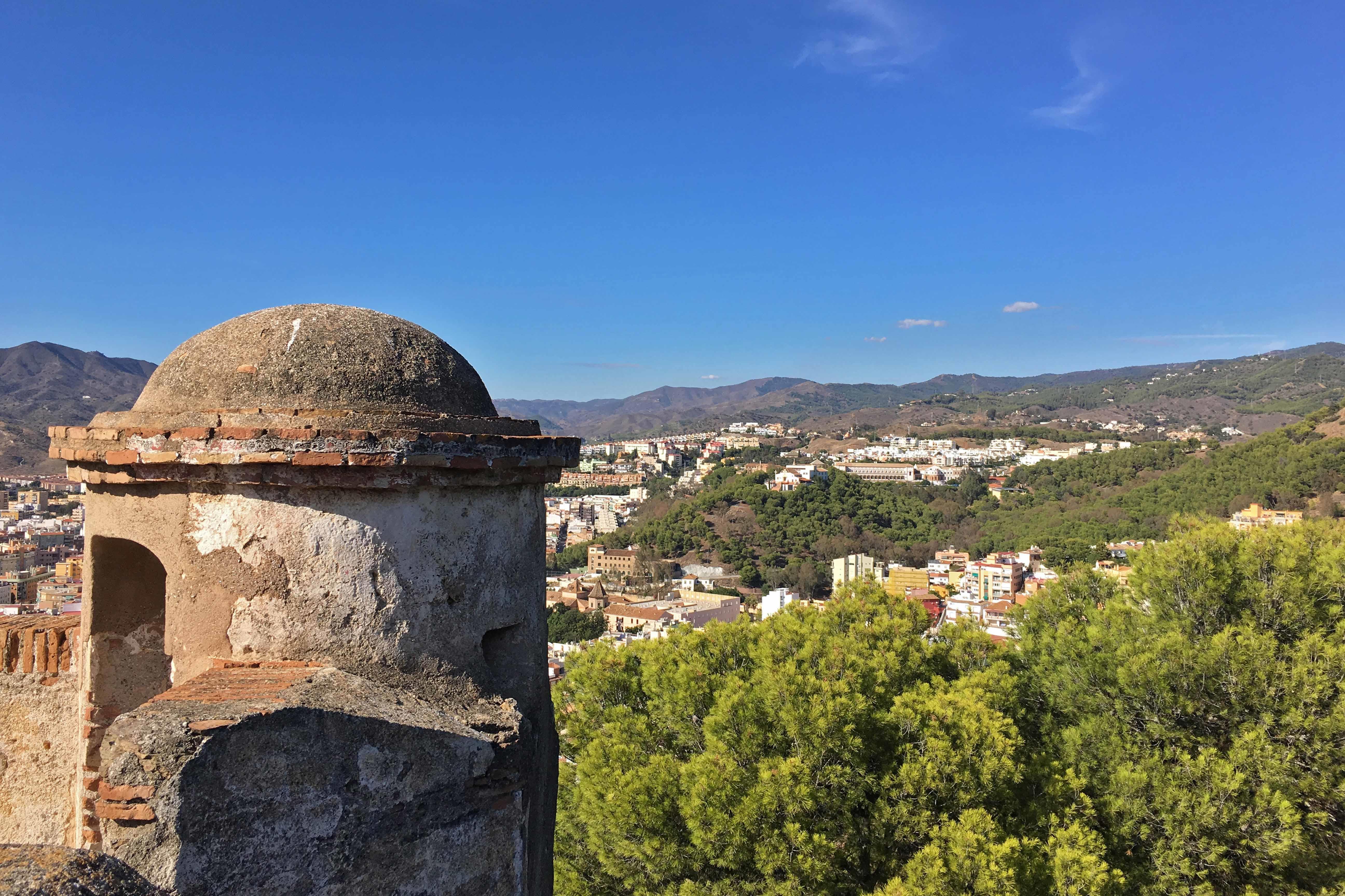 Tour Castillo de Gibralfaro de Málaga con guía