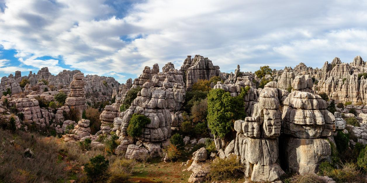Visit to the Torcal de Antequera Natural Area