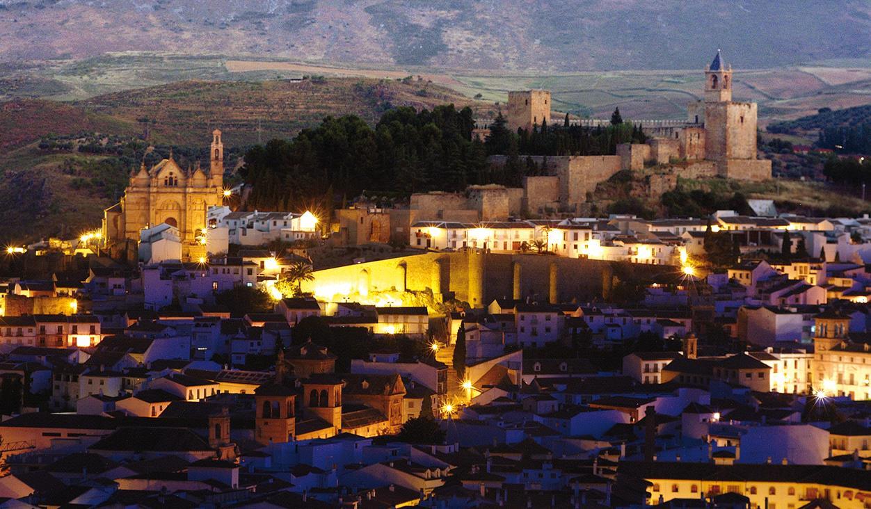 Antequera al Atardecer: Portichuelo y San Juan