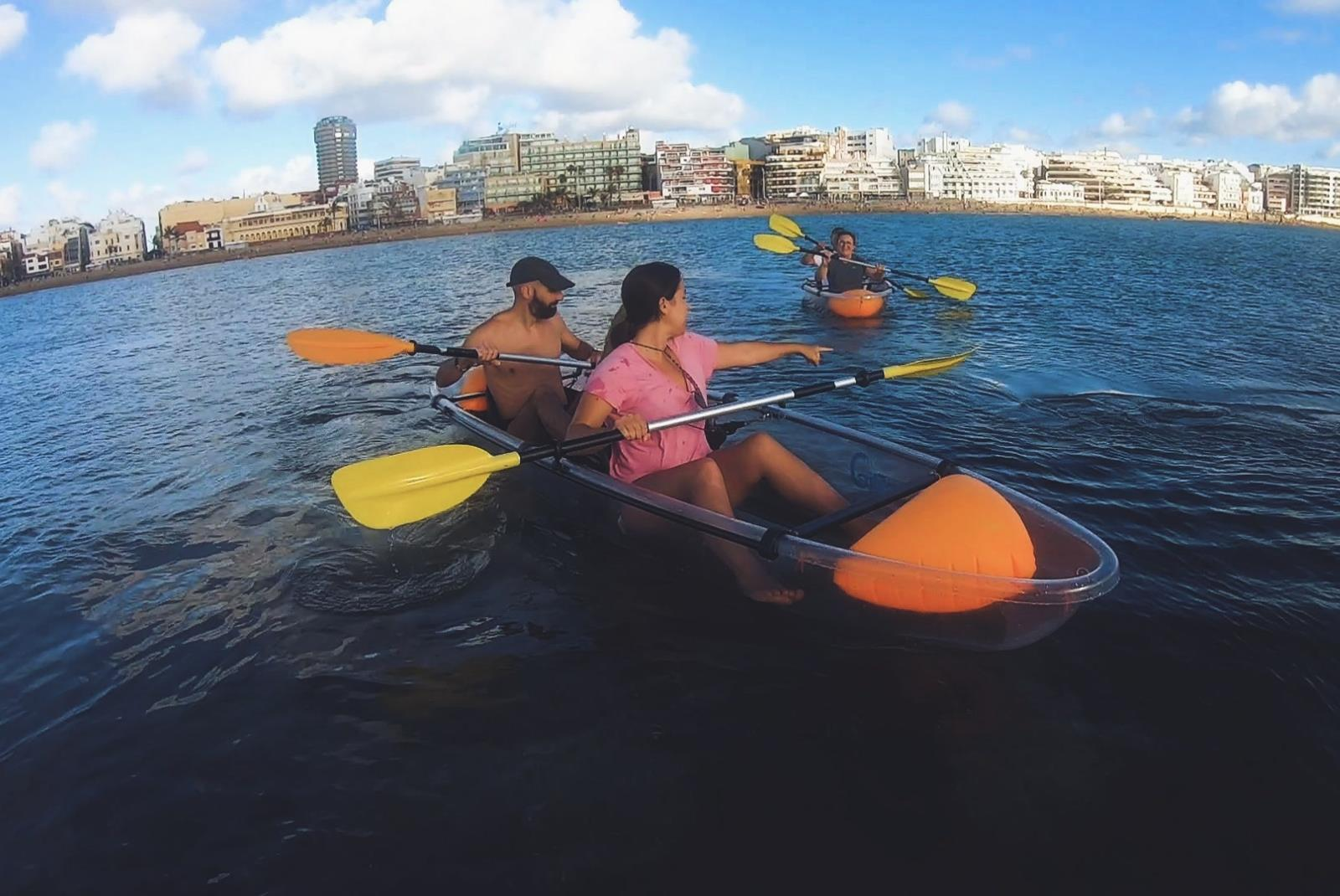 Tour-Clear-Kayak-in-Las-Canteras-with-Snack-5