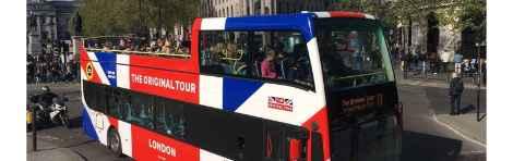 """Autobús Turístico de Londres """"The Original London Sightseeing Tour"""""""