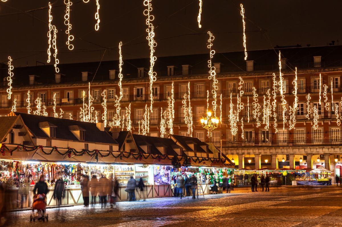 Free tour luces de Navidad en Madrid