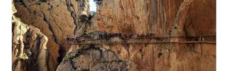 Excursión al Caminito del Rey con transporte