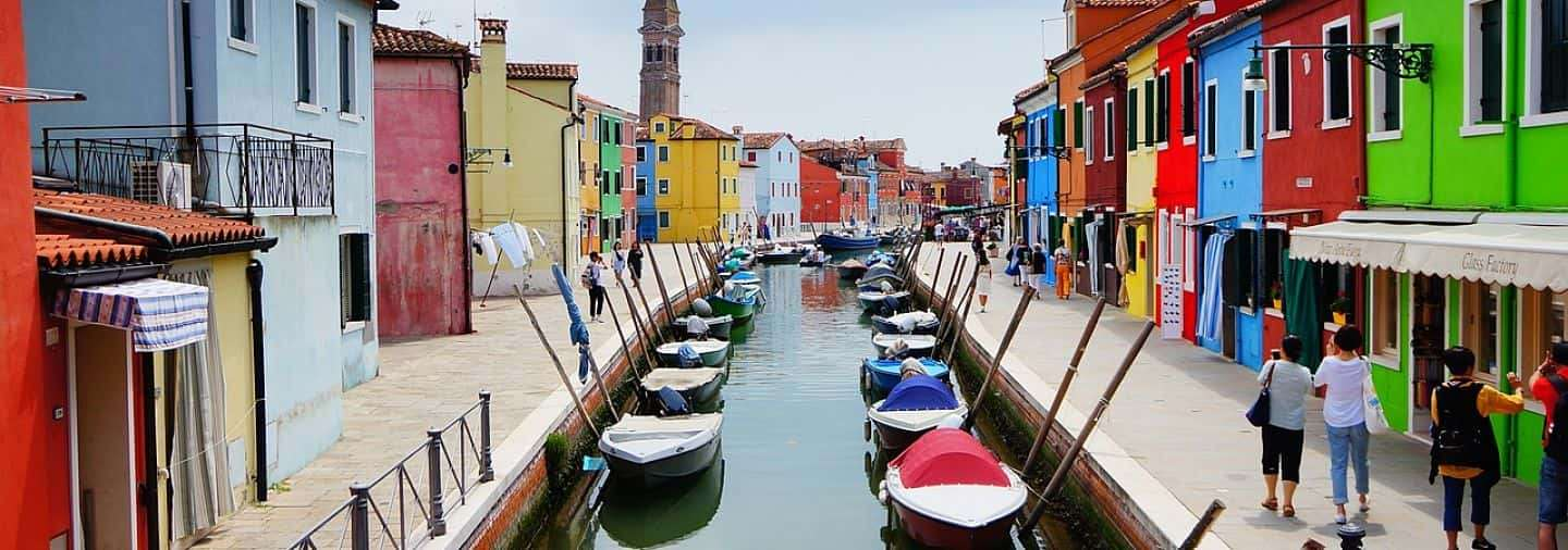 Murano and Burano Free Walking Tour