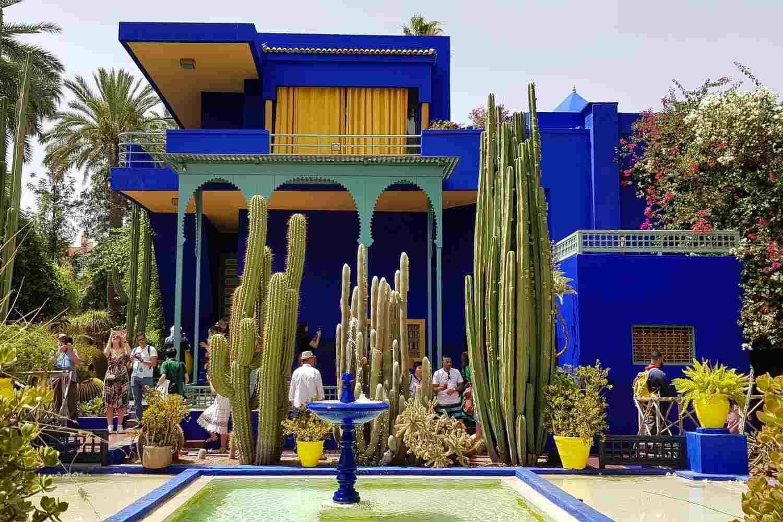 Paseo en calesa por los Jardines de Marrakech