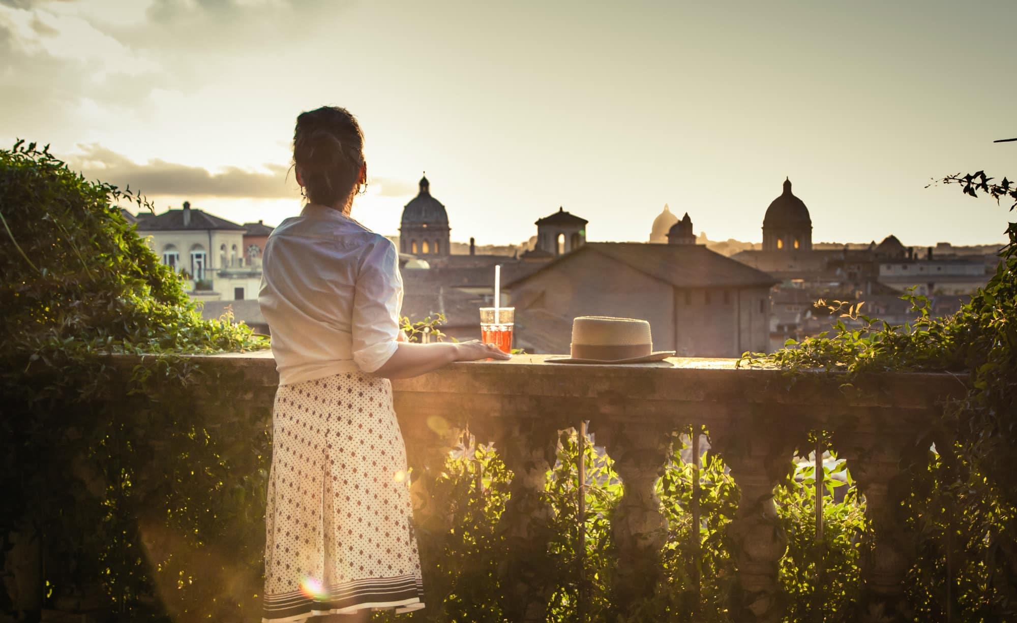 Rome sunset tour with tasting