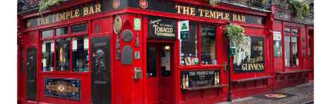 Temple Bar Tour, history of the Irish pubs