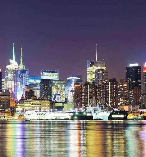 Tour Nocturno orillas del Río Hudson