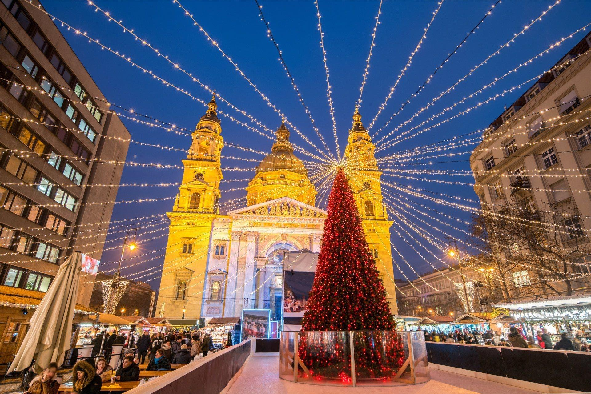 Tour Mercados de Navidad en Budapest