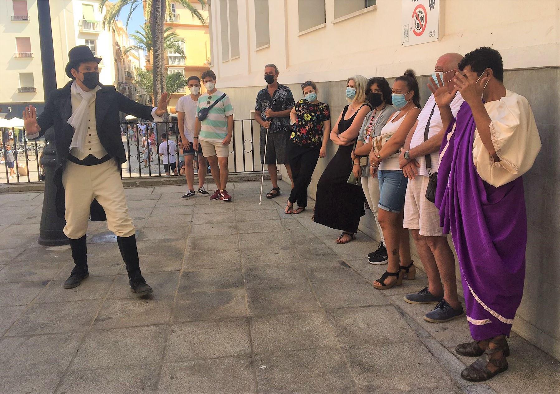 Tour teatralizado de Gadir a Cádiz