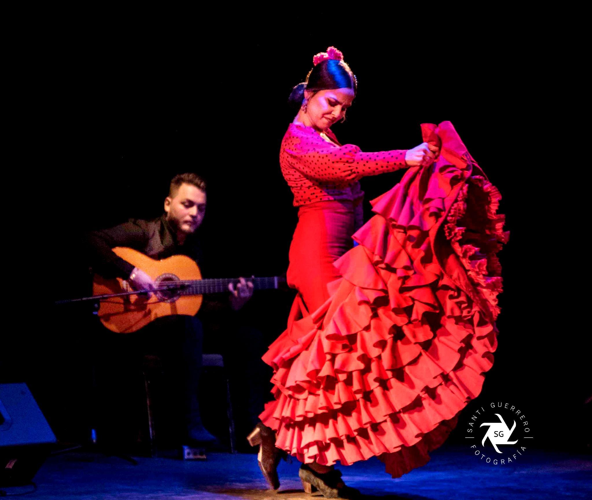 Espectáculo de Flamenco en el Teatro de Barcelona